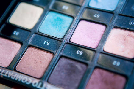 The palette for make up
