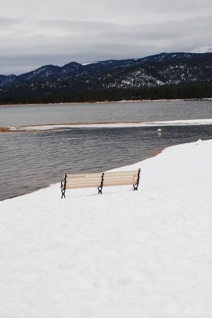 Lake Tahoe Winter Stock Photo - 8510153
