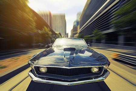 convertible: Vintage Car