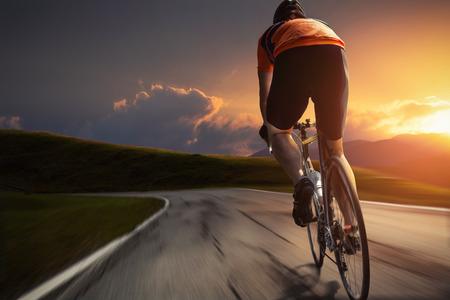 Radfahren Standard-Bild - 28218733