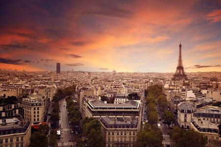 Horizon de Paris Banque d'images - 28218868
