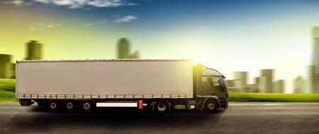 Truck  Zdjęcie Seryjne