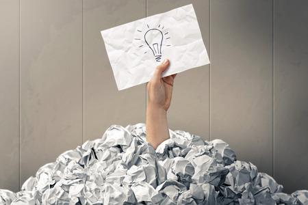 Idea conceptual image Imagens