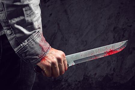 blade cut: Knife