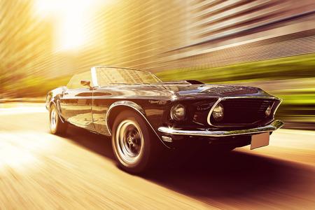 old fashioned car: Vintage Car