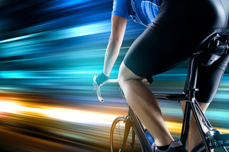 Racing Bike Reklamní fotografie