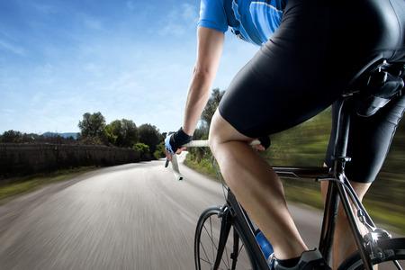 Racing Bike 写真素材