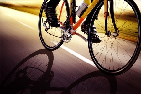 bicyclette: V�lo de course Banque d'images