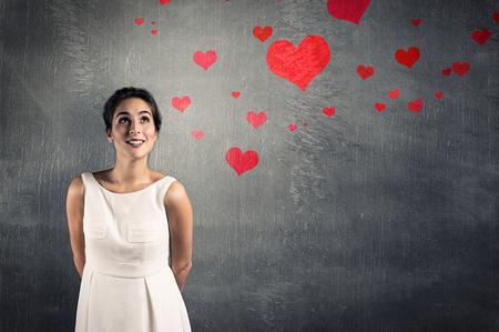 mujer sola: mujer en el amor