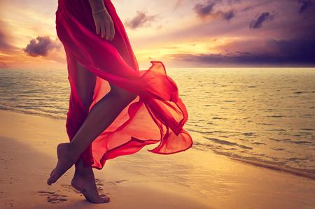 taniec: Plaża wakacje Zdjęcie Seryjne