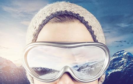 Sports d'hiver Banque d'images - 49697362