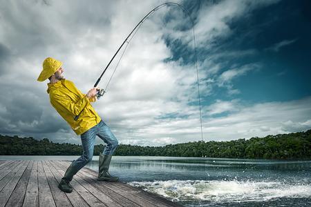 Fisherman Фото со стока - 37465695