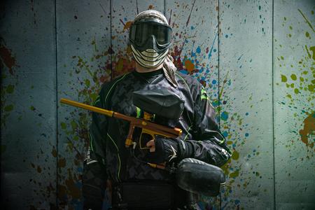 Paintballer Фото со стока - 75054530