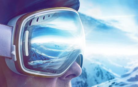 Wintersportliefhebber Stockfoto - 75526950