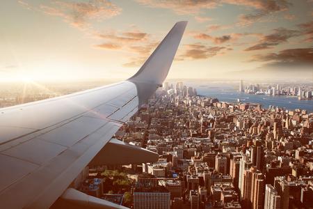 ニューヨークのフライト