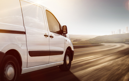 Delivery Van on its way