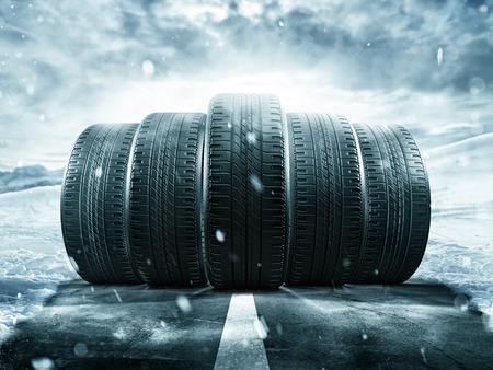 pneu: Five wheels rolling on the street