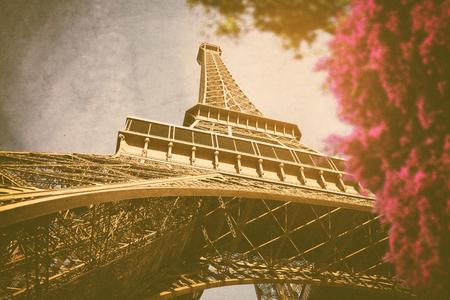 Vintage Paris Stock Photo