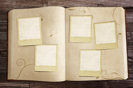 tinkering: Old Book with blank images