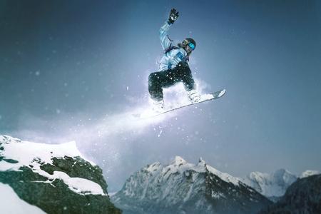 スノーボード ジャンプ