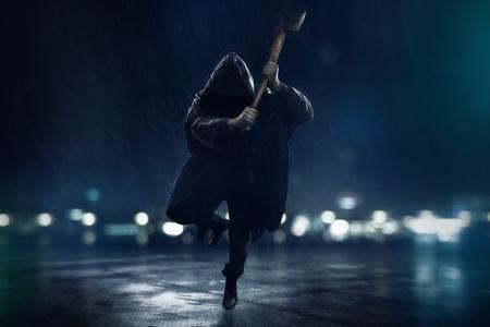 Crazy Ax Killer Reklamní fotografie