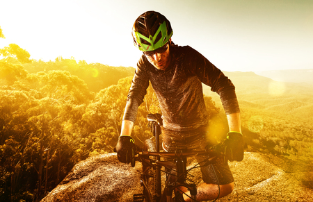 休憩 Mountainbiker