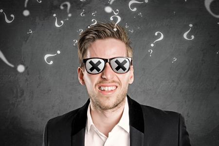 Blind Man Фото со стока