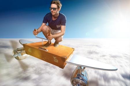 Suitcase Plane