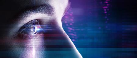 하이테크 환경의 눈