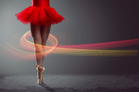 Legs of a female Dancer