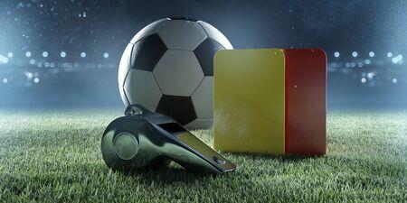 Soccer referee equipment (Rendering)