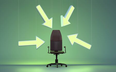 Free executive Chair (3D Rendering)