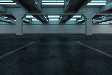 Car park background