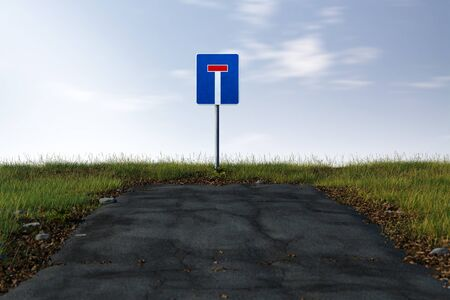 Road ends in a dead end