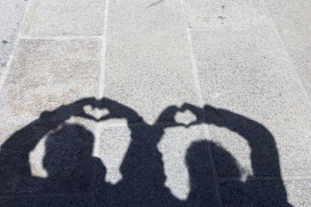 head stones: Hearts and shadows