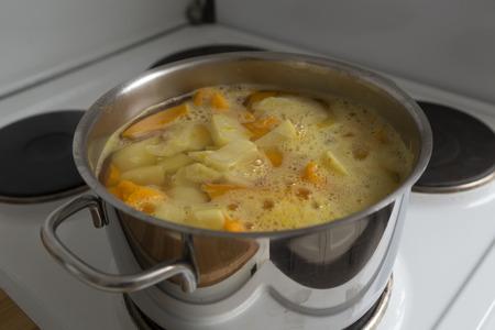 Een kookpot Stockfoto