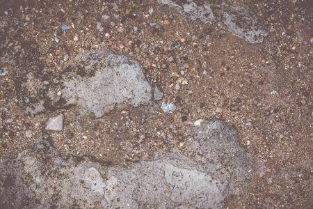 Fond texturé Sol, sable, pierre, combinaisons de ciment. Crème légère