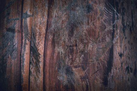 Natürlicher Hintergrund. Beschaffenheitshintergrund altes dunkelbraunes Holz. Textur Holz Standard-Bild