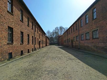 auschwitz: Auschwitz I - Birkenau death camp blocks
