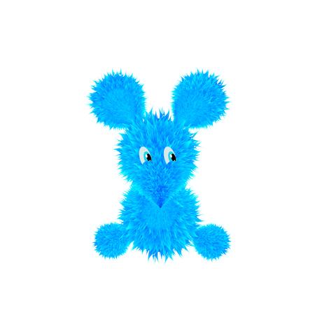 fluffy mouse Illustration