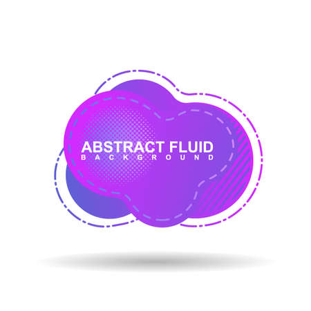 Abstract fluid backround with purple gradient