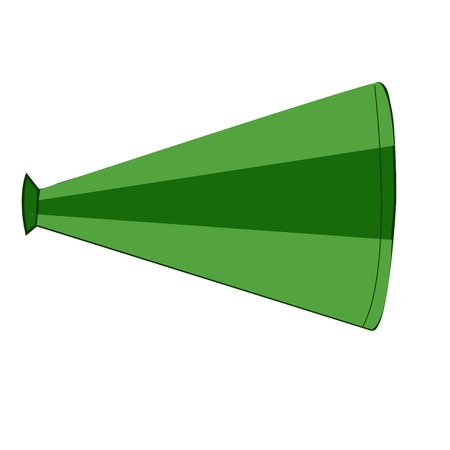 megaphone icon on white background Vector