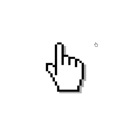 icon: Hand click icon. Vector