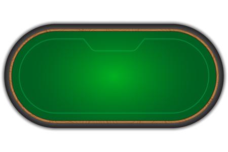 Table de poker.