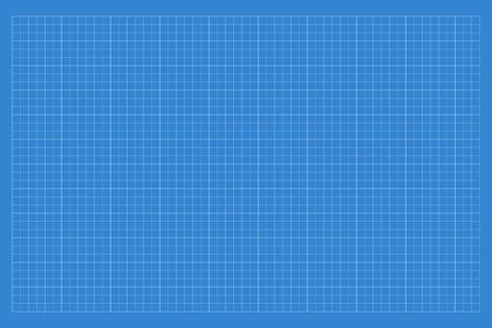 Blueprint pattern. Vector illustration.