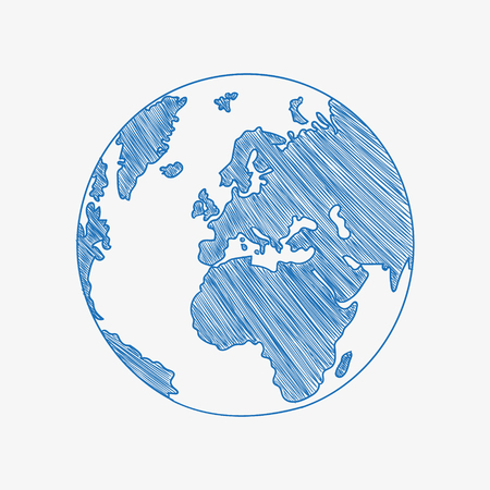 Planet icon outlines