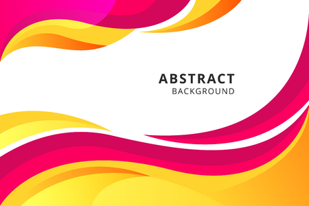 Colorful geometric background. Fluid shapes composition. design for poster, flyer, vector illustration