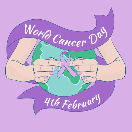 Breast Cancer Awareness month illustration