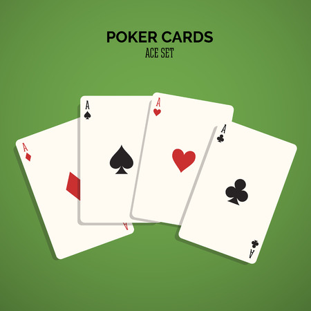 casino, cards, vector background game.