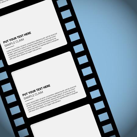 Videotape filming movies